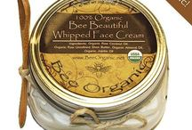 Bee Organic / Our line of certified organic skincare and beeswax candles products. You can purchase our products at beeorganic.net