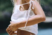 Dreamy swimwear / #swimwear #bikini #one-piece #swimsuit #boho #summer #fashion