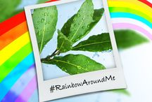 #RainbowAroundMe / he rainbow only adds to the beauty of the sky. Find a rainbow in everything around you and experience the magic of colours! #RainbowAroundMe