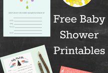 Free Babyshower printables