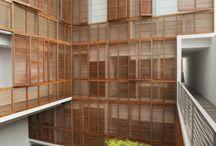 timber screen/facades