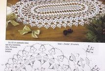 Ovàlis terítő asztali