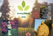 Everything Zen / Autumn is the perfect time to set up a zen garden in your outdoor space, and the good news is… you don't even need a garden to create one! A miniature Buddha statue or gently bubbling tiered or bowl fountain are an ideal way to bring a calming aspect to your patio or deck. Learn how to create yours: http://bit.ly/1OaLZKN