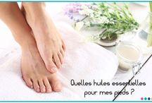 La podologie / Prendre soin de ses pieds grâce aux huiles essentielles