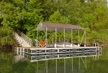 Floating Docks / RollingBarge.com makes the strongest floating dock in existence. Here is some of our work