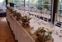 Wedding at Taronga Zoo on 6/2/15. / A beautiful rustic theme wedding.