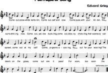 partituras fáciles school