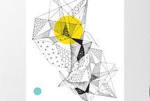 geometric illustrator