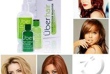 Dekoloryzacja - Zmywacz Koloru do Włosów UBER