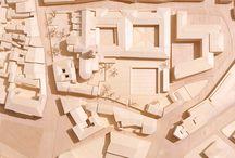 Concorso Museo Archeologico-naturalistico - Vicenza - , modello ligneo, scala 1:500