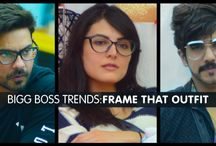 Frame that Outfit / Got glasses? Get the super cool, sexy and classy look from the Bigg Boss inspired frames.