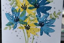"Stamp:Avant Garden / Handmade card featuring Stampin' Up ""Avant Garden"" stamp set"