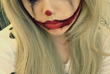Halloween make-up