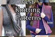 Knitting - vests