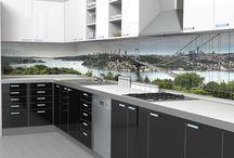 Mutfak Tezgah Arası / Standartların dışına çıkmayı sevenler için Mutfak Tezgah Arası 3D Mozaikler http://www.yerevdekor.com/3D-Mutfak-Tezgah-Arası-Mozaik