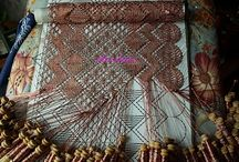 Crafts Bobbin lace / Looks very relaxing