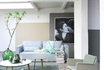 Green interior | Groen interieur / Green interior | Groen interieur (Flessengroen, woontrends 2016) - Woonblog StijlvolStyling.com