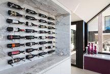 Wine Cellar - Marble Wall Mounted Wine Rack