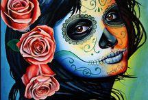 dia de los muertos. / by Beckie O'Beckie
