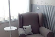 Espaços especiais / Pequenos espaços que fazem a diferença nos quartos dos nossos pequeninos...