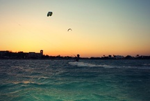 Full Moon Kite Session @ El Gouna, Egypt / Amazing expirience! Kiteboarding from sunset into moon rise, with super hard conditons with wind speed from 15 to 30 knots gusts! Yiiihaaaa :))
