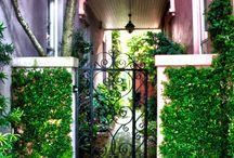 Entrances to home