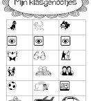 Groep 3 - Start schooljaar / Leuke kennismakingsspelletjes, knutselideeën enz voor aan het begin van het schooljaar.
