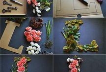 Flower letters
