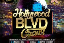 Friday and Saturday Nights Best Hollywood Club Crawl Tickets / Guided VIP clubbing LA party Tours of best club event destinations happening now nightlife - Friday and Saturday Nights Best Hollywood Club Crawl tickets