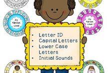Alphabet / Helping littlies learn the alphabet