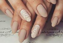 Nails Oval shape colors