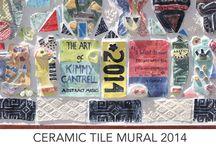 Murals ceramic