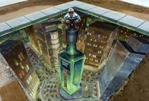 The Coolest 3D Street Art Illusions