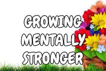 GrowingMentallyStronger / Merchandise for merchandise, which include T-shirts and other merchandise. http://www.cafepress.com/Intentional_Merchandise/12889595