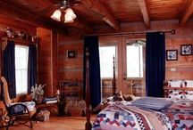 Bedrooms / Appalachian Log & Timber Homes Client Bedroom Gallery