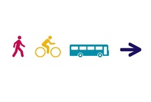 INTO - Inspiring New Travel Options / INTO is a local sustainable transport fund scheme that has been introduced by Staffordshire County Council. Source was privileged to be selected by the Council to develop the brand.