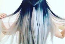cabello colorido