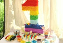 My daughter 1st Rainbow Party