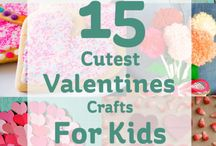 Valentines Crafts For Kids / Gifts for little ones to make for the ones they love!