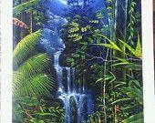 Indigenous Amazon Art / Ayahuasca inspired art for sale on Etsy.