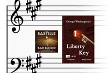"""Bastille Band / """"George Washington's Liberty Key:  Mount Vernon's Bastille Key -- the Mystery and Magic of Its Body, Mind, and Soul"""" (Character, Culture, Constitution)  www.LibertyKey.US"""