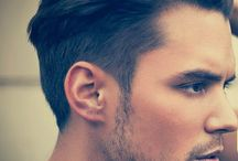 Men style / haircuts, clothing