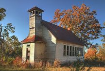 old schools / by Ron Moyers