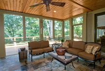 EXOVATIONS Outdoor Living / We love helping home owners design dream decks, porches, screened porches and pergolas. Here are some examples of the styles we admire, and the work we have done for some of our customers. | Atlanta, Georgia exterior remodeling  / by EXOVATIONS
