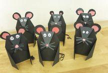 mysz z papieru