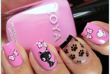 For the Humans: Nails Inspired by Animals / Girls just want to have fun with their nails and their pets!