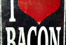 Piggie,  Piggie---- I LOVE BACON / by Pamela Strother