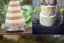 Déco gateaux de mariage / Des idées de cake toppers et de présentation pour sa pièce montée ou gateau de mariage.