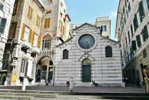 San Matteo / la chiesa e la piazza di San Matteo, Genova