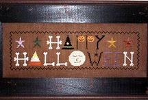 Cross Stitch-Halloween 1